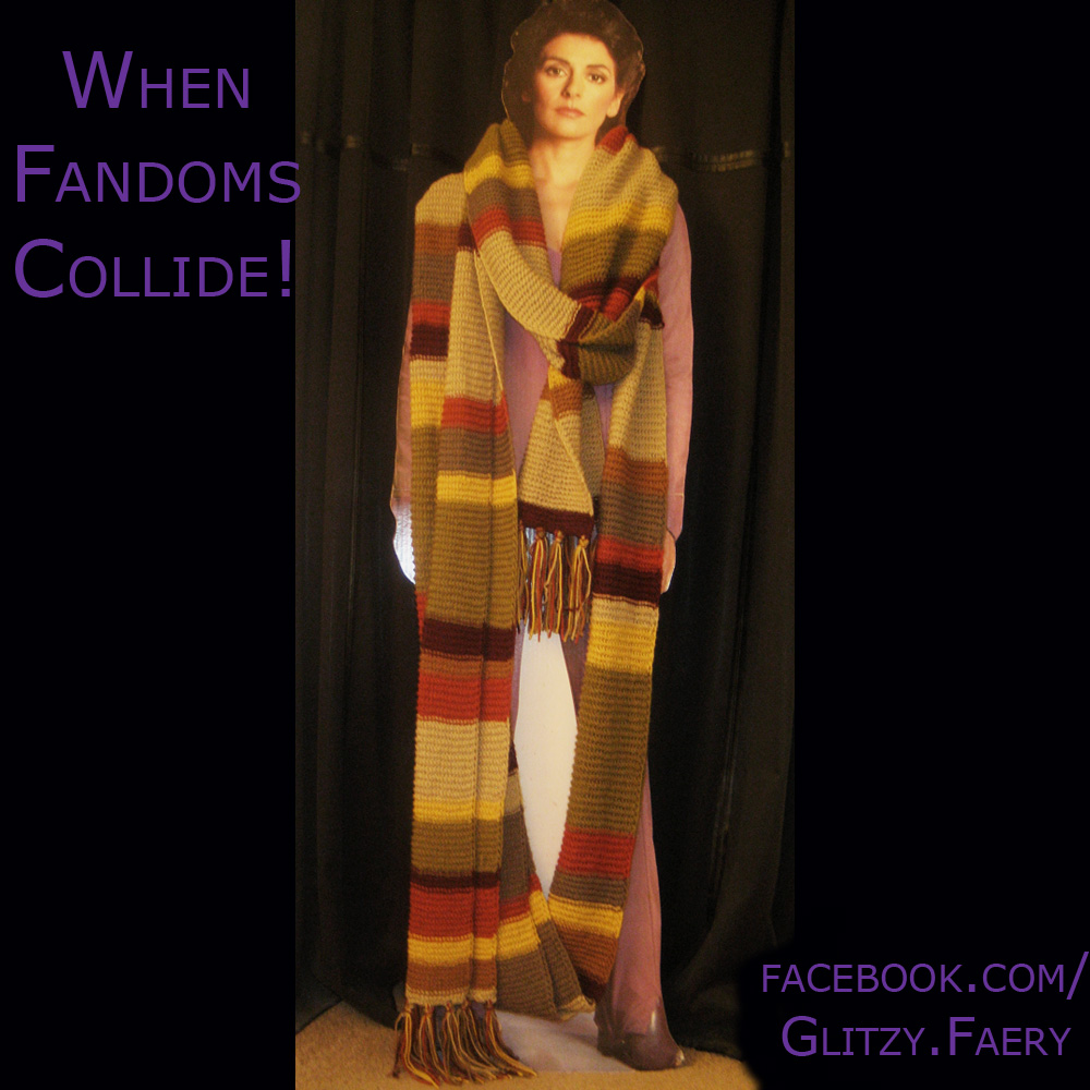 My first Doctor WhoScarf!