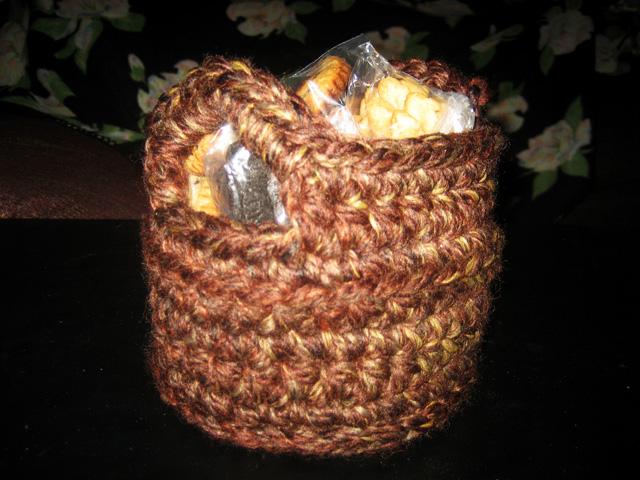 Crocheted Gift Baskets
