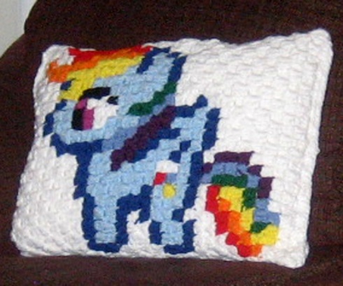 It's Rainbow Dash!